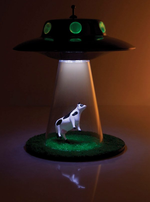 Alien Abduction Lamp Lands