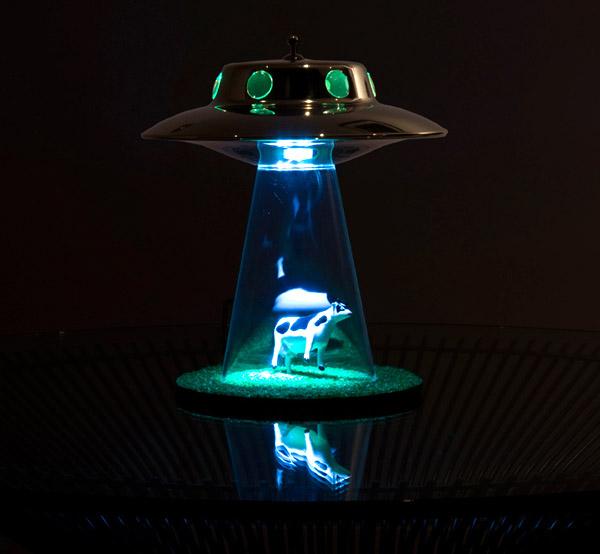 Alien Abduction Lamp Lands