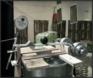 Rube Goldberg Beer Machine