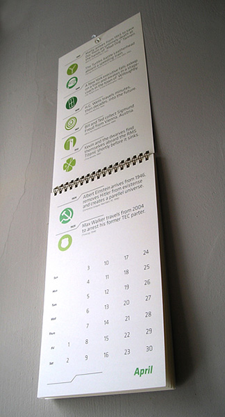 2011 Time Traveler's Calendar