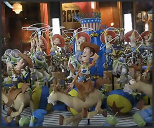 Toy Story Zoetrope