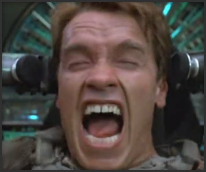 Arnold's Epic Scream