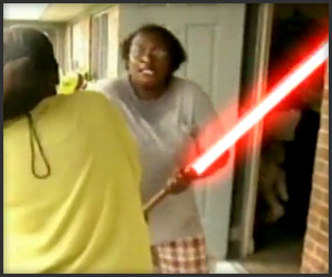 Lightsaber Attack!