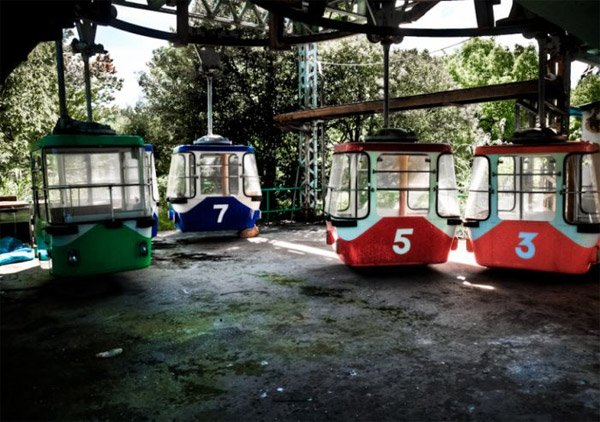 Abandoned Japanese Theme Park