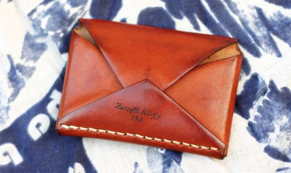Handsewn Leather Wallets
