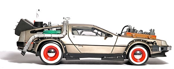 BTTF DeLorean Hard Drive