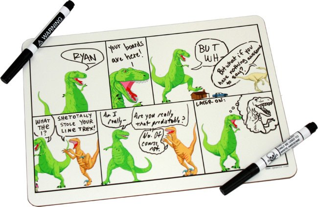 Dinosaur Comics Whiteboard