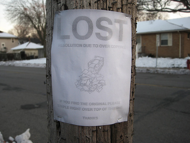 Minneapolis Lost Signs