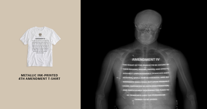 4th Amendment Wear T-Shirt