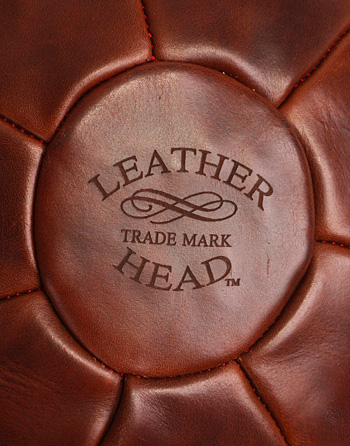 Leather Head Medicine Ball