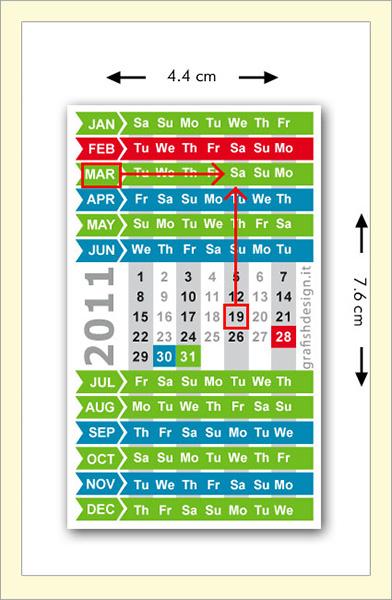 Grafish Design Calendar