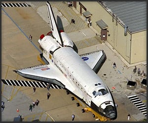 Life-Sized Space Shuttle Replica