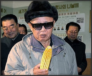 Kim Jong-Il Looking at Things