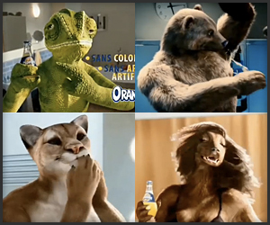 Orangina Animals Ads