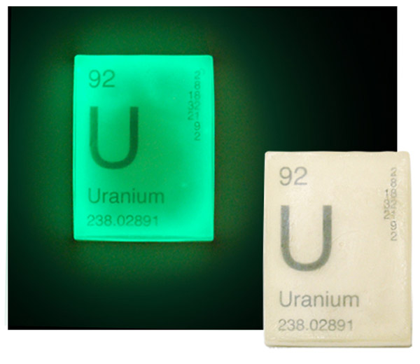 Uranium Glow Soap