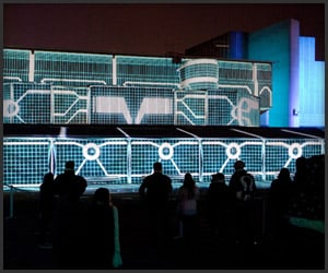 TRON: Legacy Projection Mapping