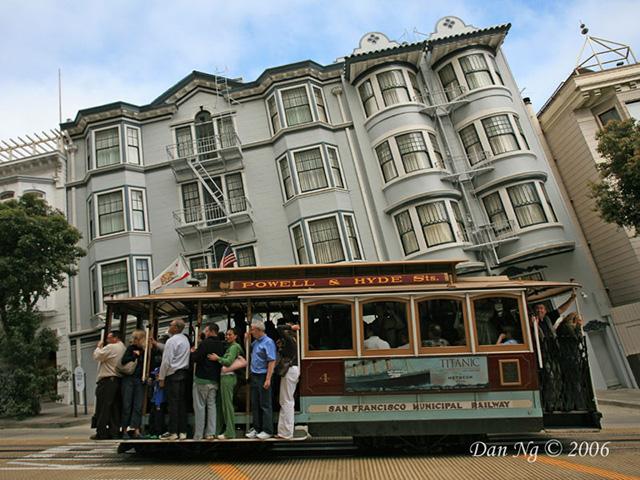 San Fran Streets Flattened