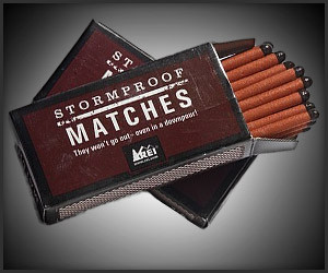 REI Stormproof Matches