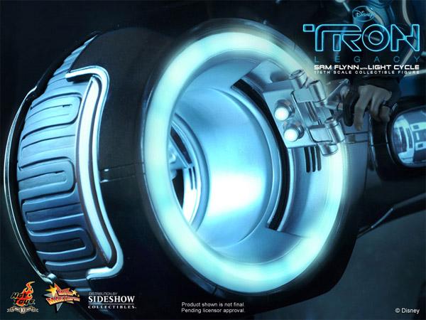 Sam Flynn Light Cycle Collectible