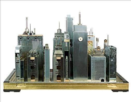 Tech Junk Cityscapes