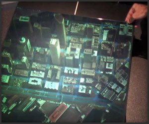 3D Holographic Maps