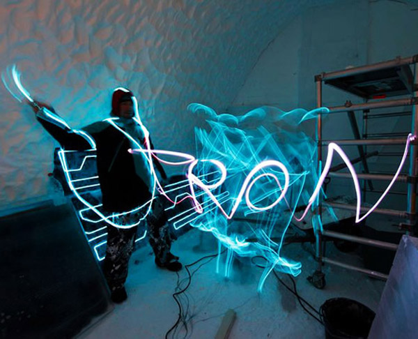 TRON: Legacy Hotel Room
