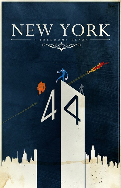 Comic Travel Posters