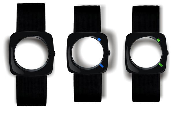 Faceless Watch Concept
