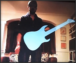 Kinect Air Guitar