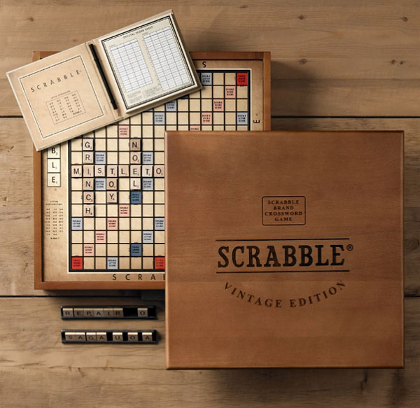 Game App Design Home: Scrabble: Vintage Edition