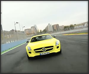 MB SLS AMG E-Cell (Video)