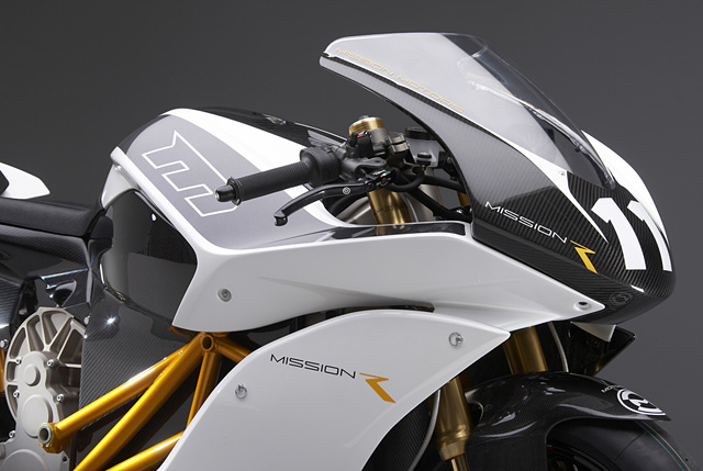 Mission R Electric Race Bike