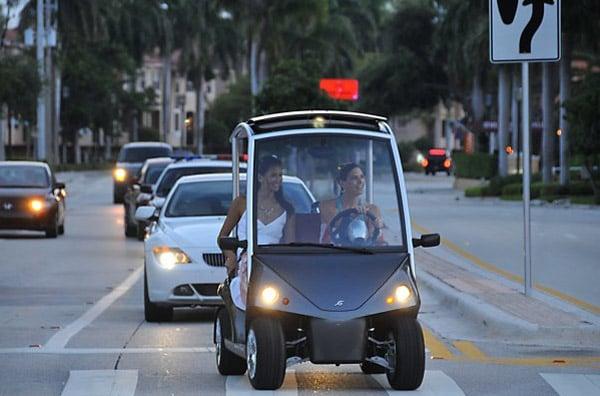 Garia Street Legal Golf Cart