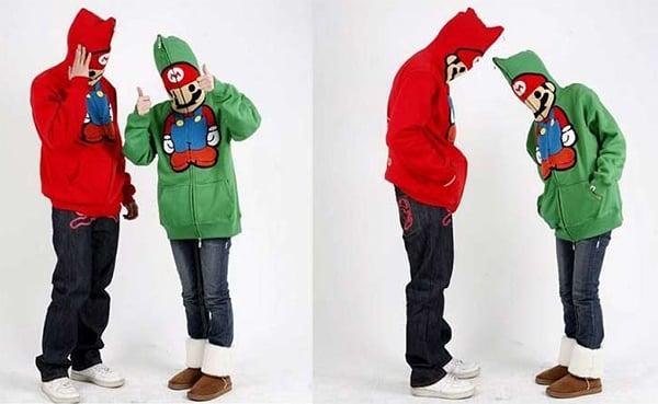 Super Mario Baby Milo Hoodie