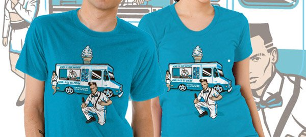Vanilla Ice Cream Man Tee