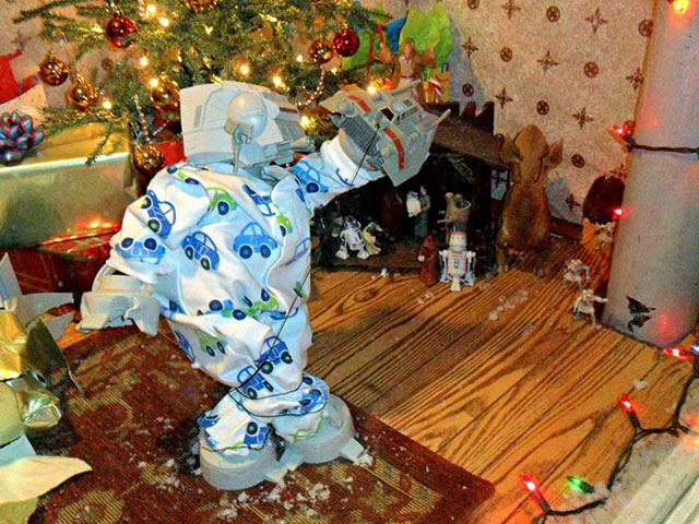 AT-AT Family Christmas