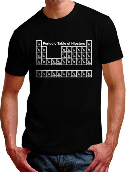 Science of Hipsters Tee