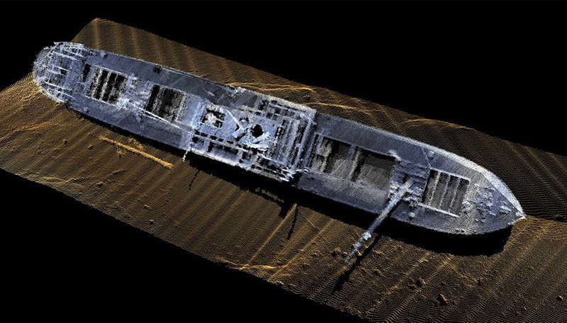 Sonar Shipwrecks