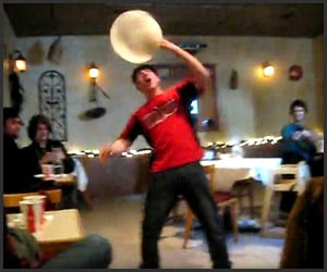 Pizza Dough Acrobat