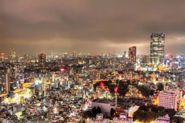 Tokyo in HDR