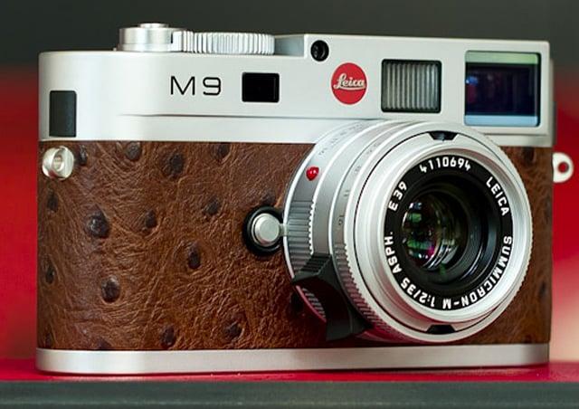 Leica M9 Silver Set