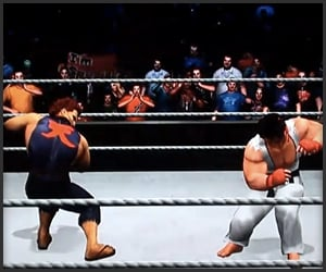 WWE x Street Fighter