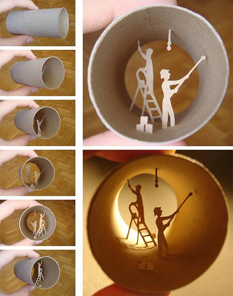 Paper Tube Art