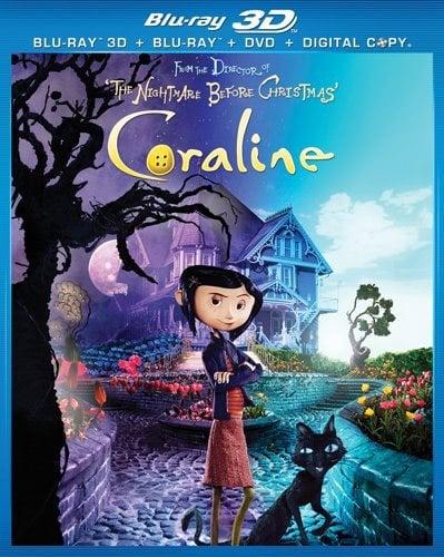 Coraline 3D (Blu-Ray/DVD)