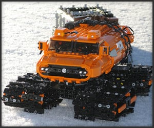 LEGO Snow Vehicle