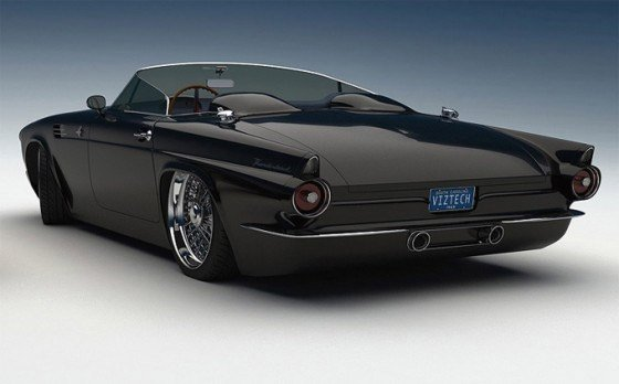 Custom 1955 Ford Thunderbird