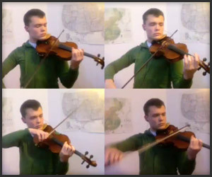 Four Violins, One Dude