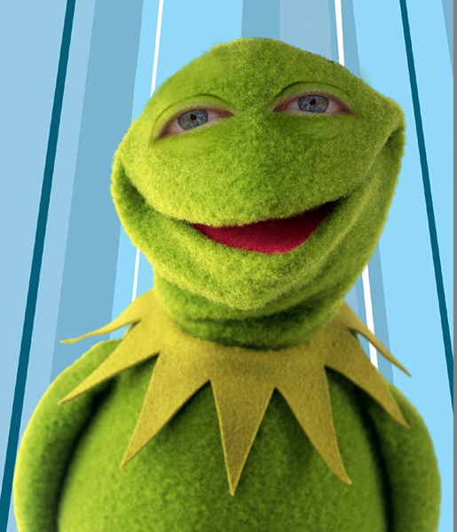 Muppets with People Eyes