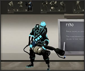 Team Fortress 2 Tron Skins