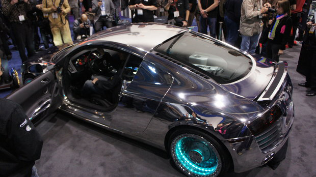 Audi R8 X Tron The Awesomer